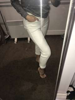 Country Road White Denim Jeans