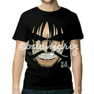 Kaos Distro Anime One Piece