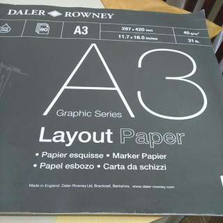 A3 Layout Paper