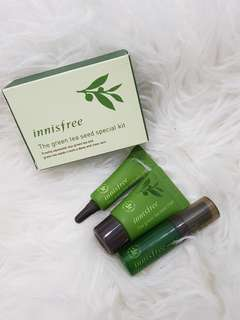 INNISFREE GREEN TEA SET