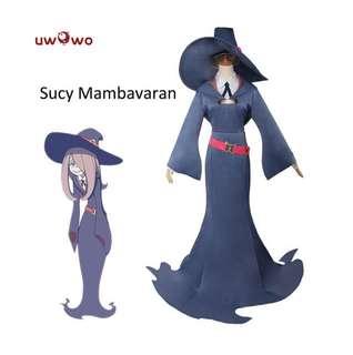 PREORDER: Sucy Manbavaran Cosplay Little Witch Academia School Uniform Costume