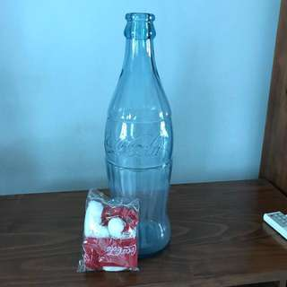 Coca Cola Giant Glass Bottle