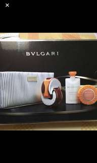 bvlgari perfume set