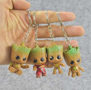 Preorder: marvel guardian's of the galaxy groot keychain
