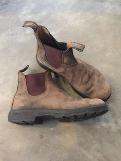 Blundstone Leather Boots Size 10