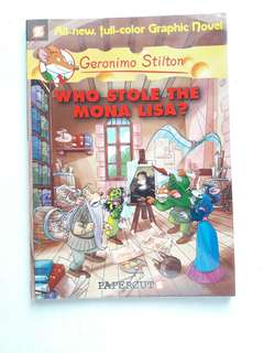 Geronimo Stilton: Who Stole the Mona Lisa