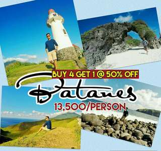 Batanes package buy 4 get 1 at 50 percent off