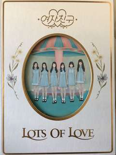 GFriend 여자친구 1st album LOL (lots of love ver.)