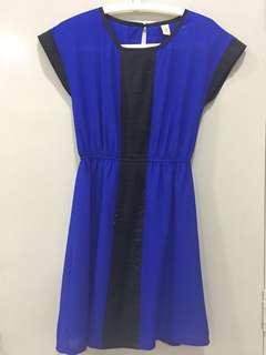 Blue working dress
