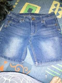Junior bare size 10 girlsdenim shorts