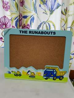 The Runabouts Cork Board