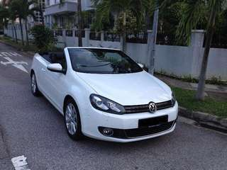 Volkswagen Golf cabriolet, Convertible for rent
