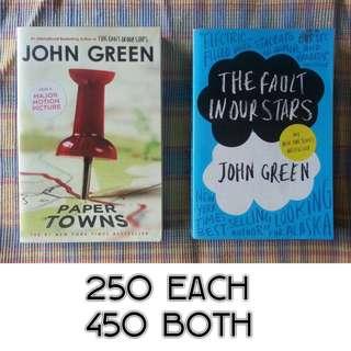 John Green books