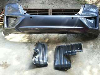 Bumper original honda access Jazz GK 2014