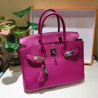 Hermes🐎birkin30 K5粉紫色 togo 非常女人 非常有氣質的顏色 這顏色已經停產了很難得找到品相好的 這只超級好價