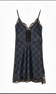 Zara Tartan Plaid Slip Dress