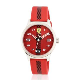 Great , super sharp ,stylish ,fashion and precious Ferrari watch.2 years worldwild warranty. For  years 6-12 years old watch, 2018 New Model bought from Italy FERRARI SHOP....(Not for sale this model in HK SHOP)很少上網請直接來電查詢60218425