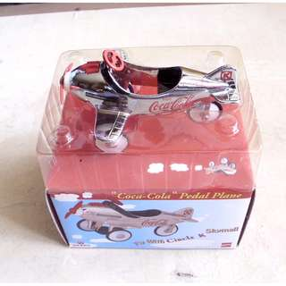 90年代產品可口可樂迷你飛機擺設一架
