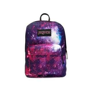 Original Jansport Pink Galaxy