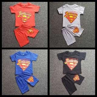 Kids Superman T-shirt Set