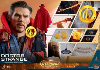 Hot Toys Dr.Strange 奇異博士首日單