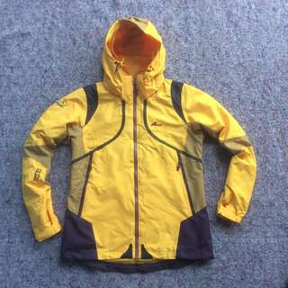 MOUNTAIN GEAR MPT EXPERT SHELL OUTDOOR JACKET YELLOW