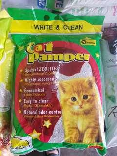 5pkt x 8L Champion Cat Pampers Litter