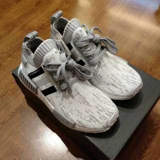 Adidas NMD R1 Primeknit Glitch Camo Japan Grey