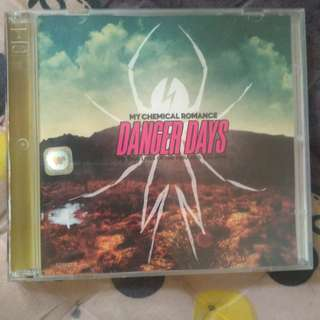 Jual CD My Chemical Romance - Danger Days: The True Lives of The Fabulous Killjoys (used)