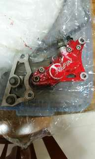 Nissin brake caliper with bracket for rxz pnp