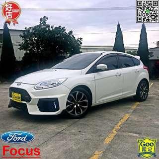 福特Ford Focus 2.0運動版,一手車、二手車、中古車、實車實價、全額貸款、超貸找錢、低月付、0元交車。