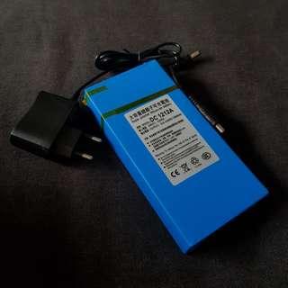 12v 12000mah external battery