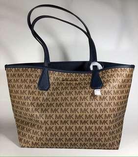 100% Authentic MK Reversible Tote Bag