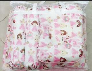 Baby bedding set princess theme