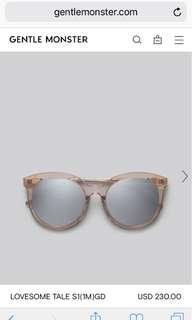 Gentle Monster Lovesome sunglasses