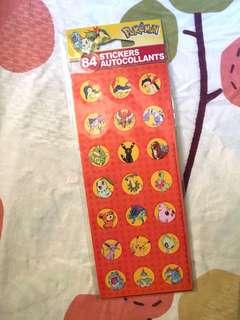 Pokémon Stickers 寵物小精靈貼紙