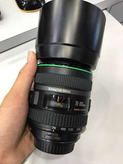 Canon 70-300mm F4.5-5.6 EF DO IS Lens *Got some dot on the rear element*
