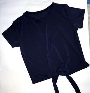 Tie Shirt Top