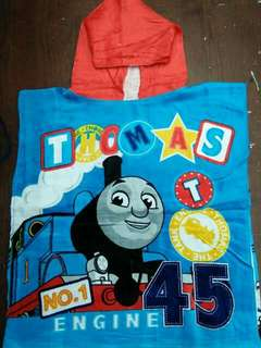 Kids Character Hooded Bath Towel - THOMAS