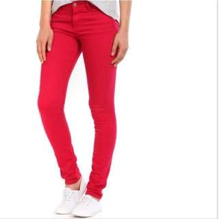 Cotton On Red Jeans