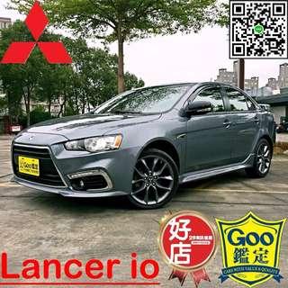 三菱Lancer io Fortis io鯊魚頭、鯰魚頭、一手車、二手車、中古車、實車實價、全額貸款、超貸找錢、低月付