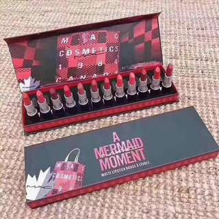 Mac Matte Lipstick Set (12-in-1)