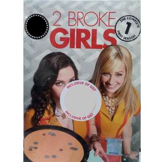 English Drama 2 Broke Girls The Complete First Season DVD