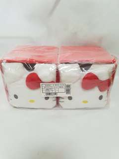 Hello Kitty Two Red Cubic Storage Box