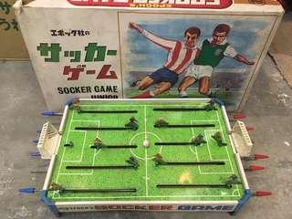 日本 懷舊足球 遊戲 玩具