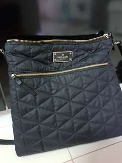 Authentic Kate Spade Quilted Nylon Sling