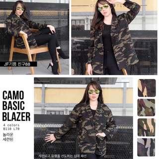 CAMO BASIC BLAZER