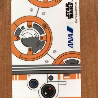RARE Star Wars and ANA card collectible