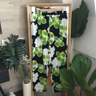 River Island Floral Print Trousers
