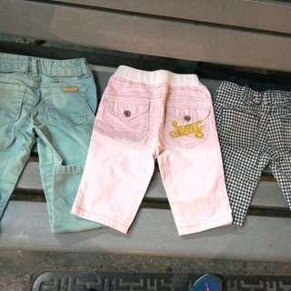 3~4y長褲3件
